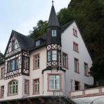 The beautiful SG-IMFA villa on the bank of the Rhine river.